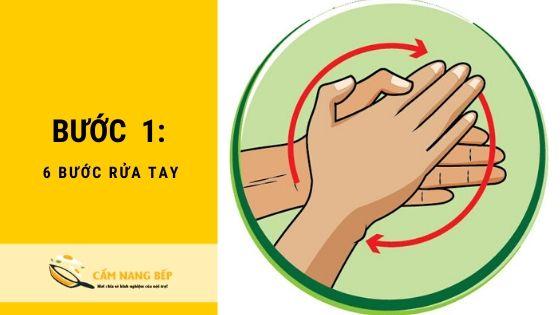 6 Bước rửa tay loại bỏ toàn bộ [VIRUS] nguy hiểm 2