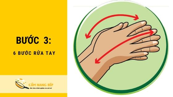 6 Bước rửa tay loại bỏ toàn bộ [VIRUS] nguy hiểm 4