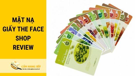 Thương hiệu The Face Shop là thương hiệu mỹ phẩm của Hàn Quốc. Chuyên sản xuất các loại mặt hàng chăm sóc da và làm đẹp. Là một thương hiệu mỹ phẩm rất nổi tiếng và thành công sau khi có đến 920 cửa hàng phủ khắp 22 quốc gia trên toàn thế giới.