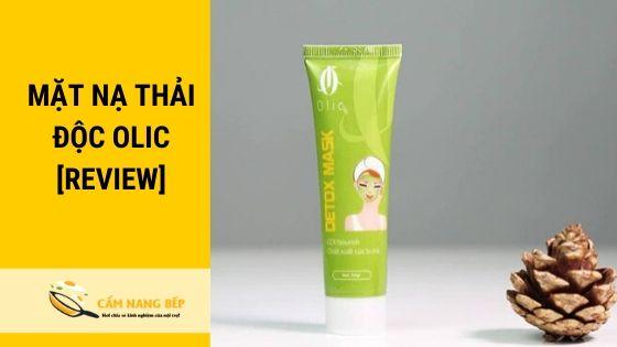 Mặt nạ thải độc Olic là một thương hiệu mặt nạ của mỹ phẩm Việt Nam. Được biết đến với đặc trưng chiết xuất từ thiên nhiên. Tuy chưa được nổi bật trên thị trường Việt Nam nhưng đến hiện tại mặt thải độc Olic đã có chỗ đứng riêng cho mình trên thị trường mỹ phẩm nội địa.
