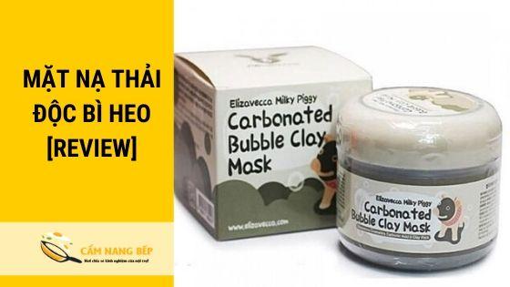 Mặt nạ thải độc bì heo hay còn gọi là mặt nạ thải độc CARBONATED BUBBLE CLAY MASK. Xuất sứ từ Hàn Quốc, và cũng là một sản phẩm mặt nạ HOT của thị trường làm đẹp.