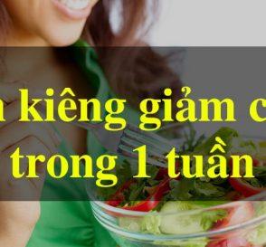 Cách giảm 8 cân trong 1 tuần [CHUẨN PP GM] 7
