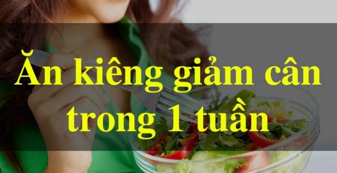 Cách giảm 8 cân trong 1 tuần [CHUẨN PP GM] 1