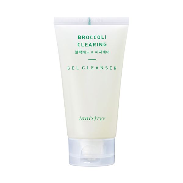 Review sữa rửa mặt Innisfree Broccoli Clearing Gel Cleanser