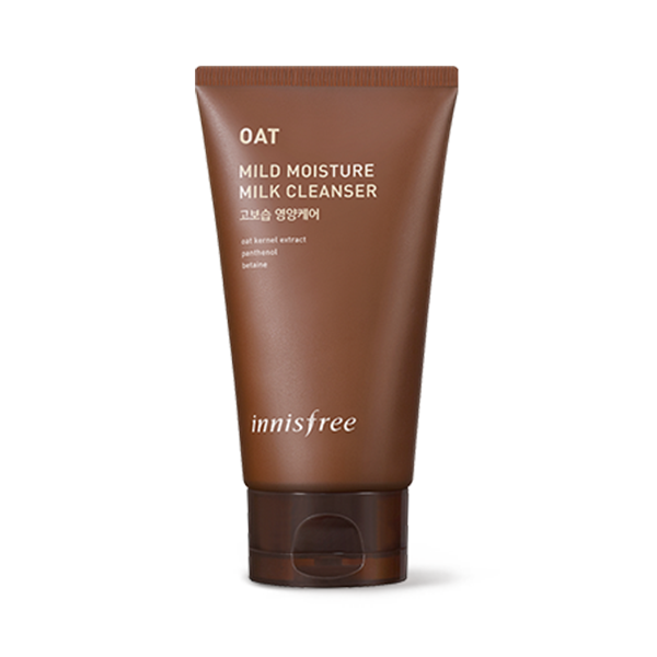 Review sữa rửa mặt Innisfree Oat Mild Moisture Cleanser 100ml