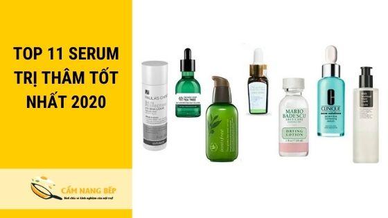 review serum trị thâm tốt nhất