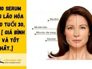 review serum chống lão hóa da